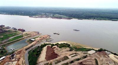 Ríos Paraguay y Paraná presentan preocupantes niveles de descenso