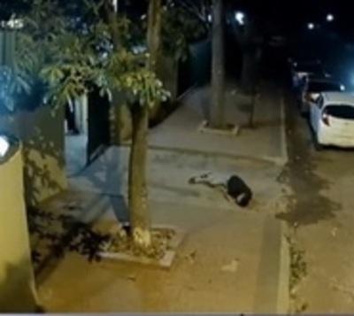 Violento ataque de motochorros en Capiatá