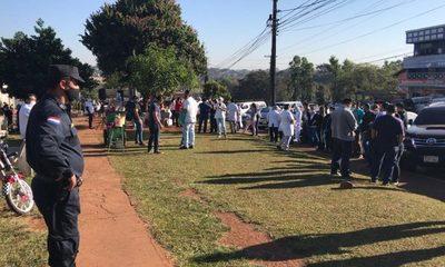 Profesionales de blanco exigen más pruebas de covid-19 para Alto Paraná