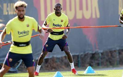 Dembélé está recuperado, pero ¿llega para la Champions?
