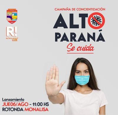 "Lanzarán campaña ""Alto Paraná se cuida"""