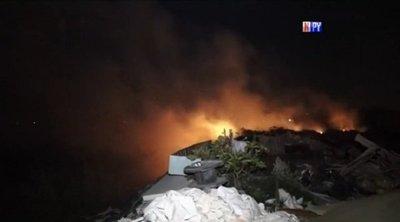 Quema de basura ocasiona incendio de gran magnitud