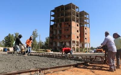 Confirman avance al 36% de las obras en el Complejo Roque Alonso