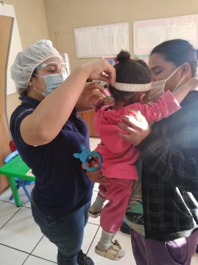Club de niños en la Unidad de Salud de Presidente Franco