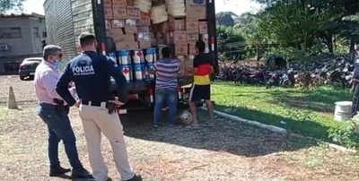 Procesan a los tres detenidos con camión  repleto de mercaderías de contrabando – Diario TNPRESS