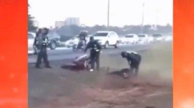 """""""No hubo violencia"""", dice Caminera ante denuncia de maltrato"""