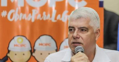 """Arnoldo Wiens: """"Las obras públicas no paran"""""""