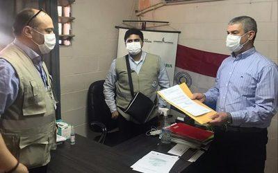 Entregan proyecto de hospital escuela a viceministro de Salud