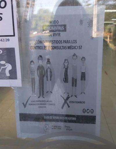 Asegurados no pudieron ingresar por nuevo protocolo de vestimenta en IPS