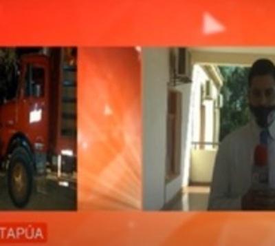 Millonario robo a camión repartidor en Itapúa