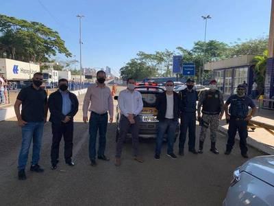 TRABAJAN EN APERTURA INTELIGENTE DEL PUENTE DE LA AMISTAD