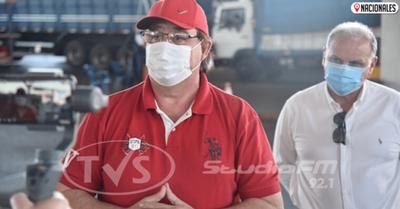 Gobernador de Alto Paraná da positivo a COVID-19: «Me cuidé al engriparme»