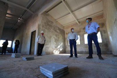 Avanza construcción de Unidades de Salud en Capiatá