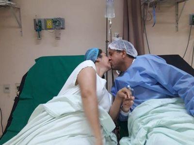 ¡Salió de alta!: Su señora le donó riñón