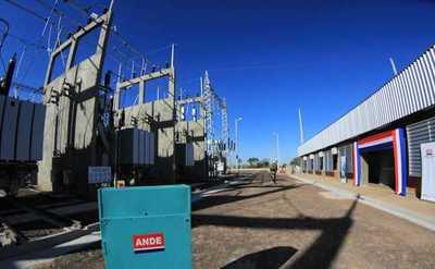 Presidente inauguró nueva subestación de la ANDE en Concepción