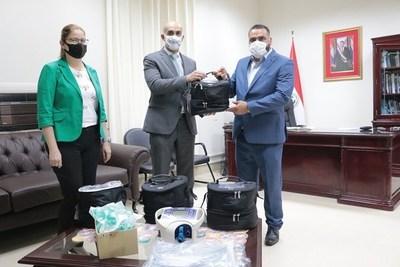 Entregan ventiladores pulmonares a Gobernación de Canindeyú