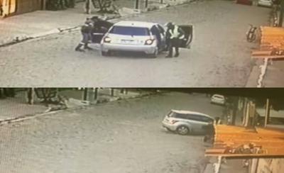 "HOY / Víctima que atropelló a dos asaltantes: ""Me salvé de milagro"""