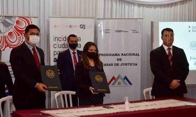 FCSyP firma convenio con el Ministerio de Justicia – Prensa 5