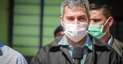 Mario Abdo desde Concepción niega que discrimina a la oposición