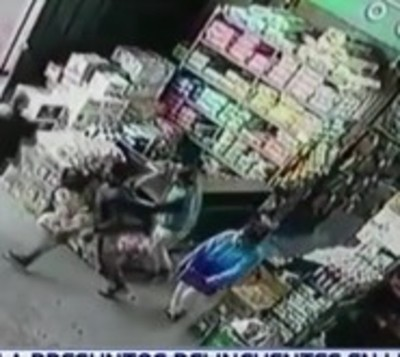 Detienen a presuntos ladrones en Limpio