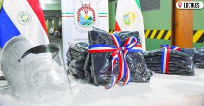 Entregan equipos de bioseguridad a instituciones de Itapúa