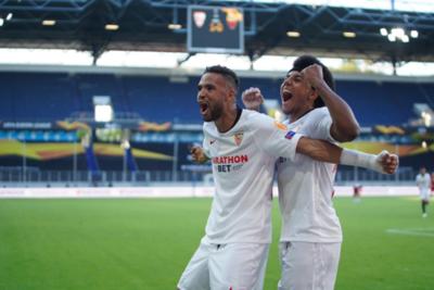 Con autoridad, Sevilla y Leverkusen se meten en cuartos de Europa League