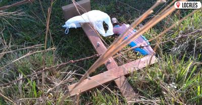 B° San Isidro: Inadaptados destruyeron oratorio