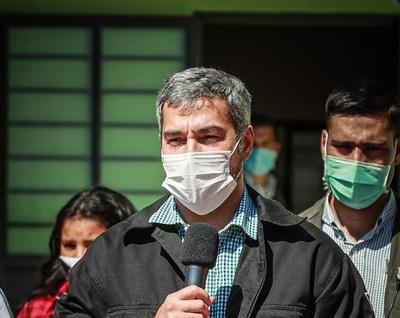 "Mario Abdo niega que exista ""persecución política"" a oposición: ""ape opama la elección"""