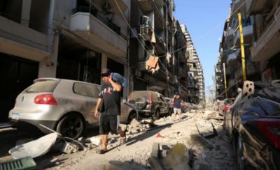 HOY / Más de 300 mil personas quedaron afectadas tras la explosión en Beirut