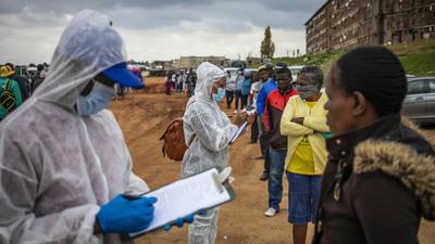 África supera el millón de contagios de COVID-19 con 22.000 muertes