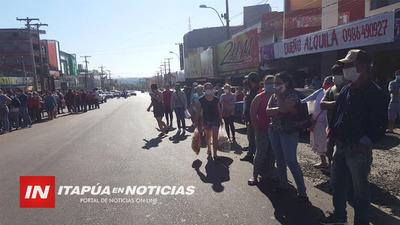 GOBERNACIÓN LLEVA ASISTENCIA A PASEROS AFECTADOS POR LA PANDEMIA