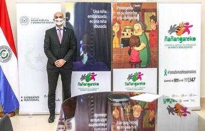 """Lanzan campaña """"Ñañangareko"""" que busca proteger a niñas y adolescentes del abuso sexual"""