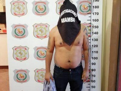 Policía captura a sospechoso de un homicidio en Pedro Juan Caballero