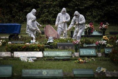 Brasil reportó más de 53.000 casos de coronavirus y se acerca a los 100.000 muertos en total