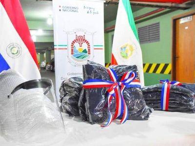 Covid-19: Instituciones de Itapúa reciben equipos de bioseguridad