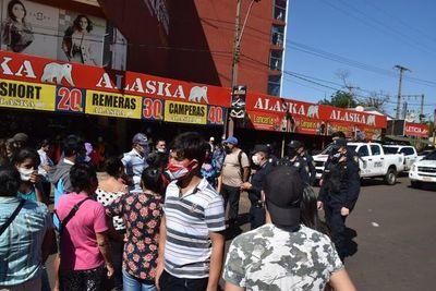 Incidentes durante entrega de kits en Encarnación