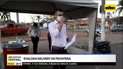 Comerciantes evalúan delivery de frontera
