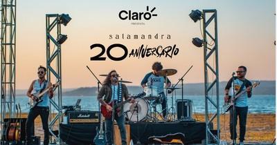 Salamandra cumple 20 años y los celebra con un concierto virtual