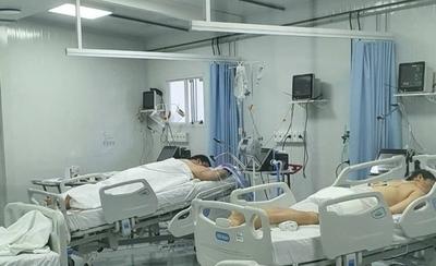 HOY / Imágenes muestran la dura realidad de los pacientes con COVID-19 internados en terapia intensiva