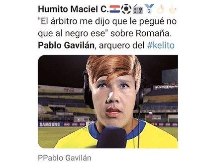 Redes explotaron con Pablo Gavilán