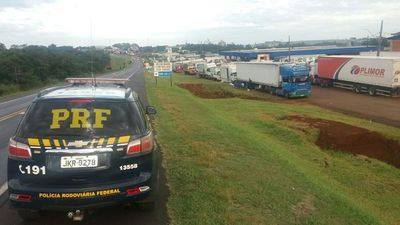 Anuncian TREGUA por 15 días en huelga de camioneros en BRASIL