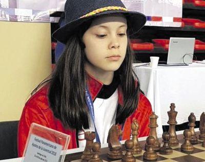 Helen Montiel, de nuevo  la mejor U14 del mundo