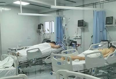 Imágenes muestran la dura realidad de los pacientes con COVID-19 internados en terapia intensiva