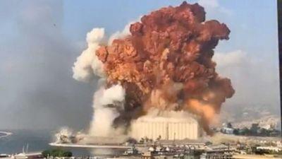 154 muertos, 120 heridos graves en explosión en Beirut, según ministro Salud