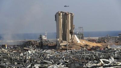 Beirut, zona de catástrofe en medio de una crisis sanitaria y política sin precedentes