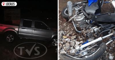 Grave accidente de tránsito deja cuantiosos daños materiales y un herido