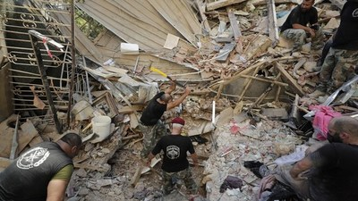 Aumenta número de víctimas por las explosiones en Beirut: 154 muertos y 120 heridos graves