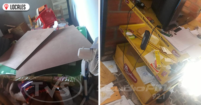 Malvivientes roban dinero del interior de un depósito de mercaderías