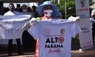 """Lanzan campaña de concientización """"Alto Paraná Se Cuida"""" – Diario TNPRESS"""