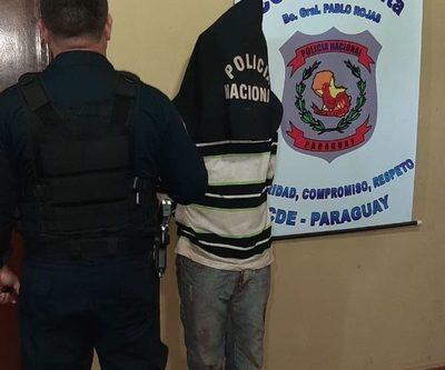 Violento sujeto es detenido  tras golpear a su pareja – Diario TNPRESS